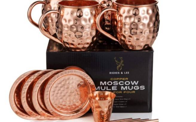 Bicchieri Moscow Mule