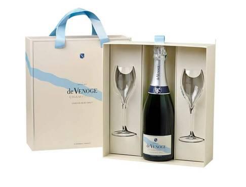 Champagne brut e flute