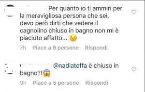 Nadia Toffa e Totò