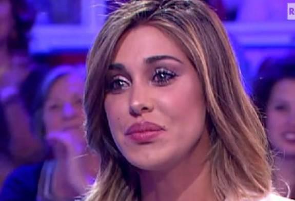 Belen Rodriguez in tv