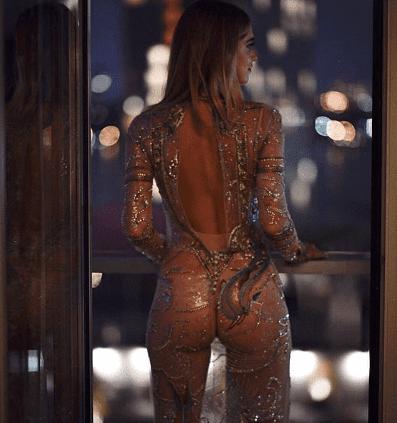 Chiara Ferragni vestito trasparente