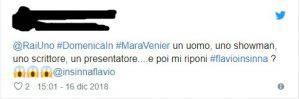 Flavio Insinna Tweet