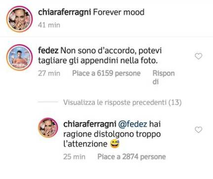 Chiara Ferragni nuda su Instagram: è bufera sui social