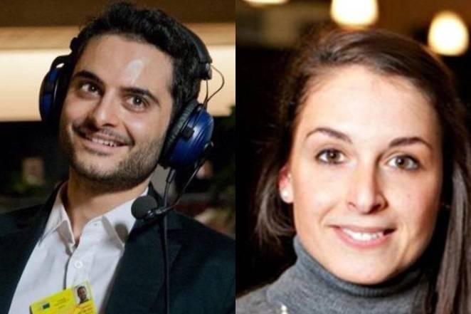 Antonio Megalizzi e Valeria Solesin