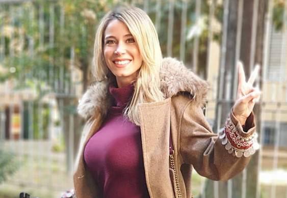 Diletta Leotta prima della puntata di questa sera