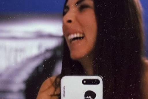 Micol Olivieri selfie