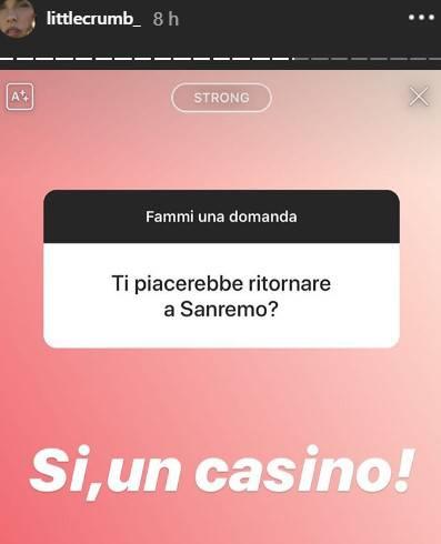 Elisabetta Canalis Sanremo