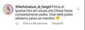 Chiara Ferragni commento