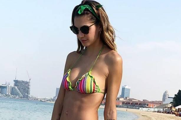 Melissa Satta mare