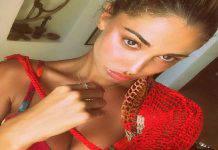 Belen Rodriguez senza trucco