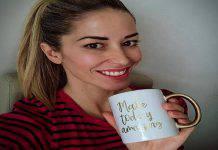 Elena Santarelli messaggio