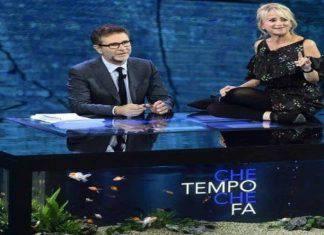 Stasera in Tv Che Tempo Che Fa
