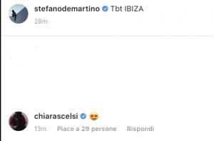 Stefano De Martino flirt