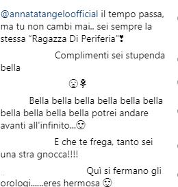 Anna Tatangelo camicia