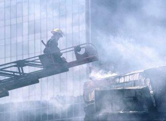 Incendio Università Lione