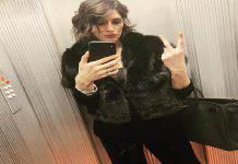 Elisa Isoardi scollatura spacco