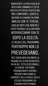 Uomini e Donne Andrea Dal Corso Instagram