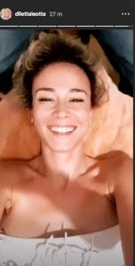 Storia Instagram di Diletta Leotta
