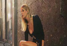 Alessia Marcuzzi, spacco inguinale: incidente inevitabile quando si china