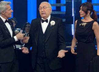 """Sanremo 2019, Baglioni su Baudo: """"Hai capito il pennellone?"""""""