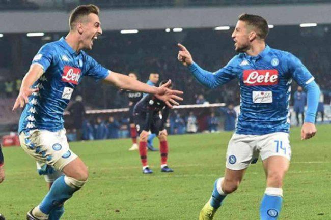 Stasera in TV Napoli Juventus