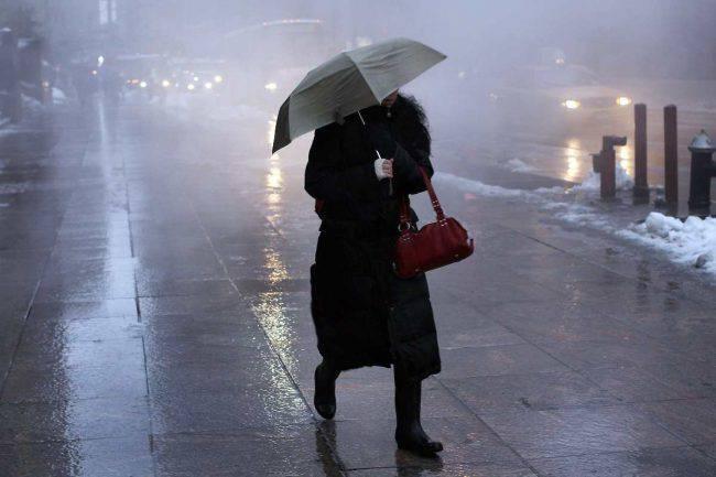 Meteo freddo pioggia