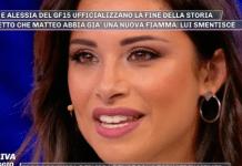 Pomeriggio 5, amore davvero finito tra Alessia Prete e Matteo Gentili? La risposta di lei