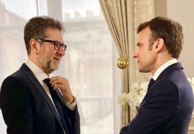 Che tempo che fa Fazio Macron