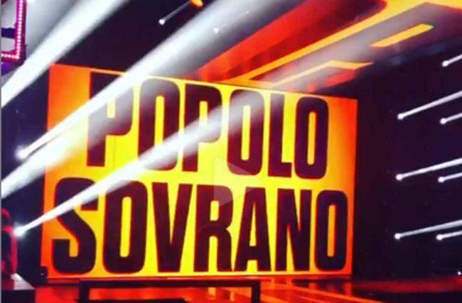 Stasera in Tv, giovedì 14 marzo: Popolo Sovrano   Cast   Ospiti   Anticipazioni