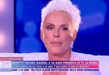 Brigitte Nielsen in lacrime