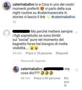 Caterina Balivo episodio spiacevole