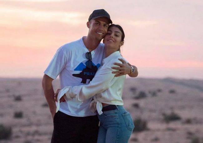 Georginia Rodriguez e Cristiano Ronaldo