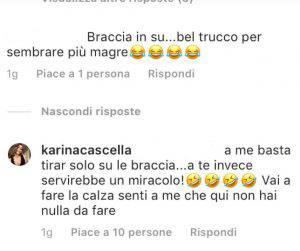 Karina Cascella forma smagliante