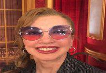 Milly Carlucci da giovanissima