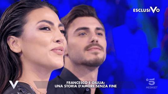 Verissimo, Francesco Monte e Giulia Salemi