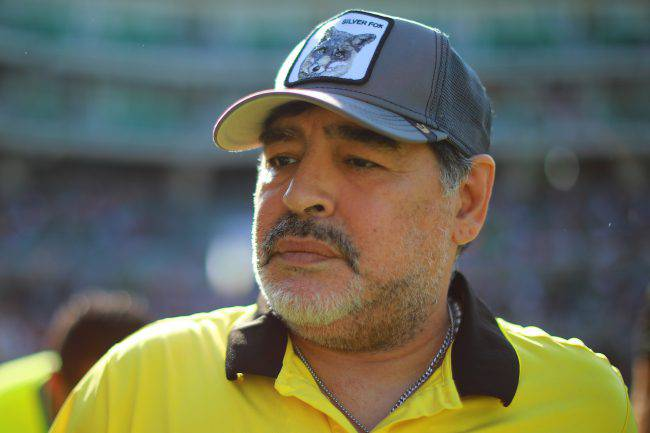 Santiago Lara Diego Armando Maradona