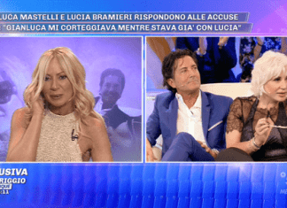 Lucia Bramieri tradita da Gianluca