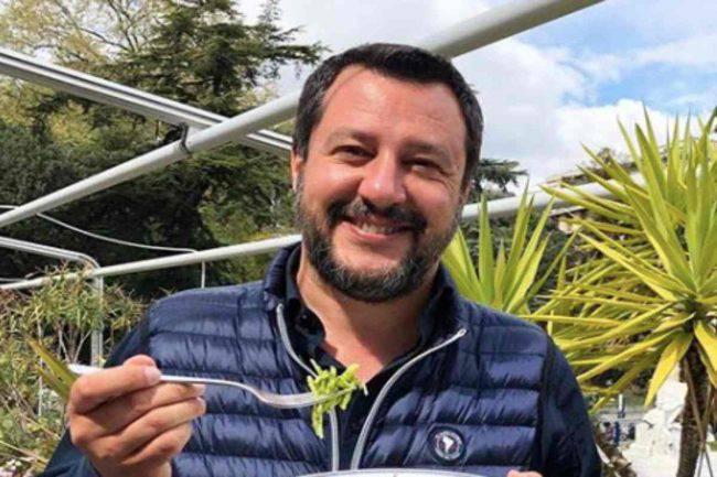 Matteo Salvini attacca un noto conduttore della Rai: la frecciatina in diretta tv