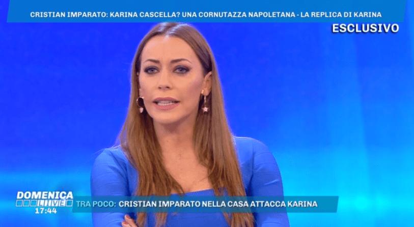 Karina Cascella risponde