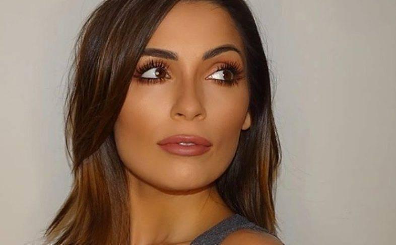 Alessia Macari vestito scivola