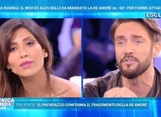 Alex Belli e Mila Suarez