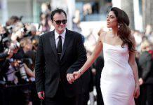 Cannes 2019, Quentin Tarantino e la moglie Daniella Pick
