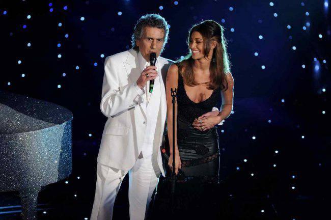 Toto Cutugno e Belen Rodriguez