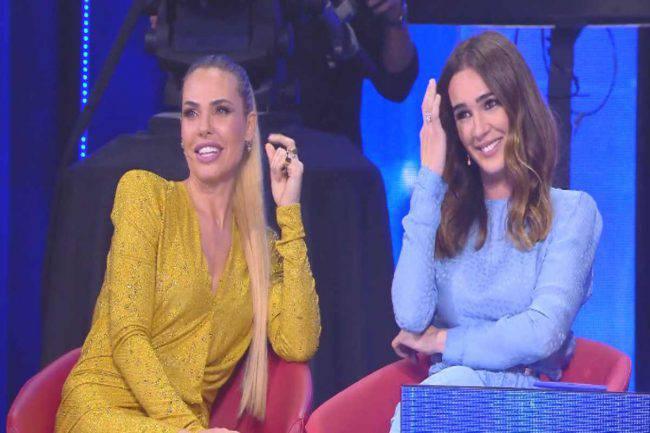 Ilary Blasi e Totti litigano in diretta ad Amici? Ecco il video