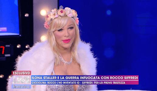 Ilona Staller l'accusa a Rocco Siffredi