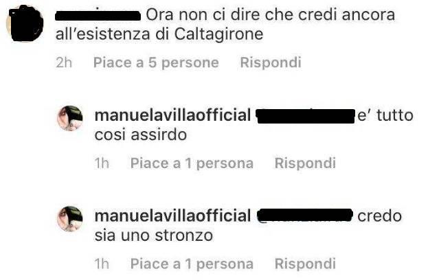 Manuela Villa Instagram