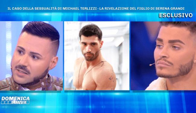 """Domenica Live, rivelazioni choc su Michael Terlizzi: """"Ci ha provato con Gianmarco Onestini"""""""