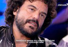 Francesco Renga confessione ex