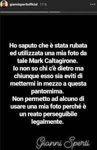 Gianni Sperti Caltagirone