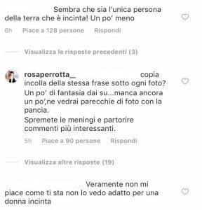 Rosa Perrotta polemica